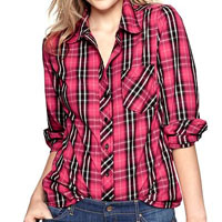 Gap plaid shirt $42.99