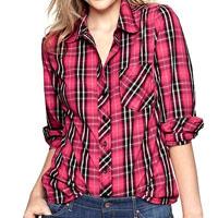Gap plaid shirt $42.99