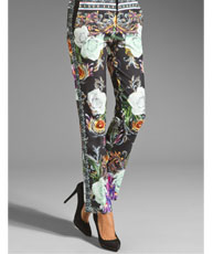 baroque scarf pant $275.00