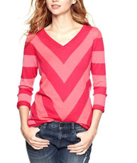 chevron Sweater $54.95