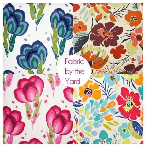 floral chair fabric