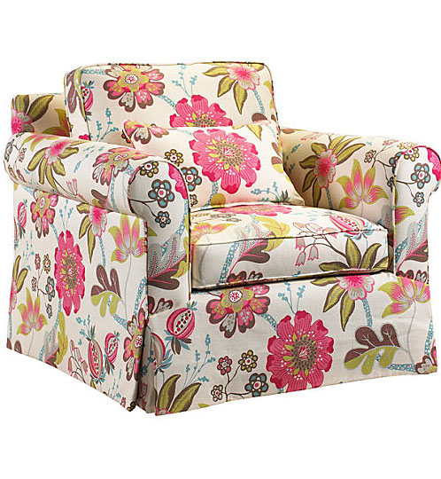 One Kings Lane Saint Remy Floral Chair